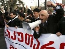 Грузинская оппозиция снова протестует