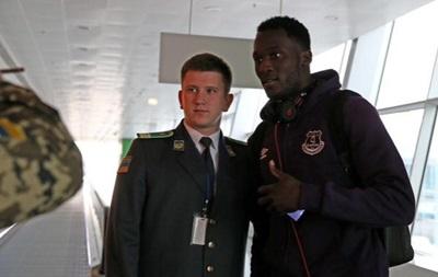 Эвертон прилетел в Киев на игру Лиги Европы