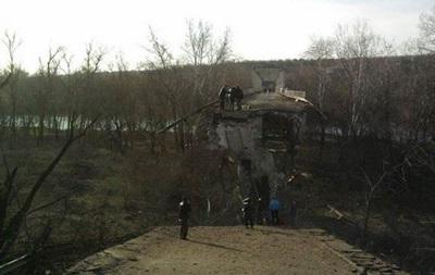 На Луганщине подорвали последний мост через Северский Донец - СМИ