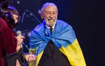 Кикабидзе спел  Червону руту  на грузинском языке