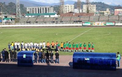 Сборная ЛНР сыграла товарищеский матч со сборной Абхазии