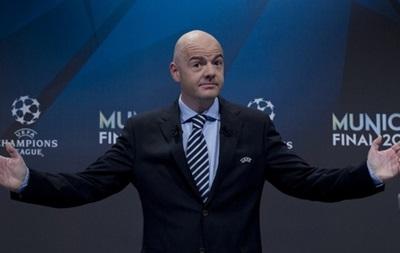 UEFA хочет увеличить квоту сборных Европы на чемпионате мира в России
