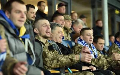 Сборная Украины отправится на матч против Испании с воинами АТО