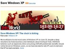 Более 30 тысяч человек пытаются спасти Windows ХР
