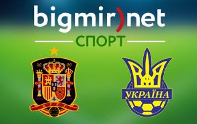 Испания - Украина 0:0 Онлайн трансляция матча отбора на Евро-2016