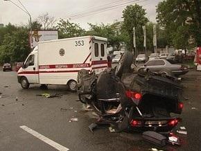КП в Украине: За рулем разбившейся Honda находился близкий друг Пелиха