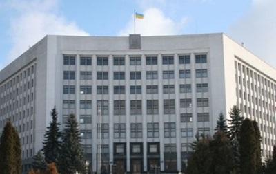 В Тернопольском облсовете и ОГА отключили свет из-за долгов
