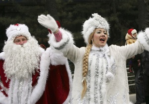 Новый год в Россию пришел на час позже обычного
