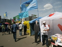 Завтра киевлянин сожжет флаги проигравших партий