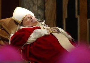 В Киев привезли мощи Иоанна Павла II