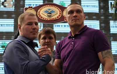 Соперник Усика рассказал российским СМИ о своем визите в Киев
