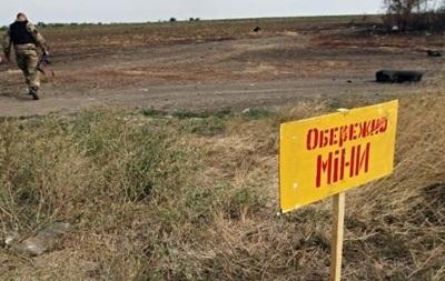 От мин в Донбассе погибли более сорока детей