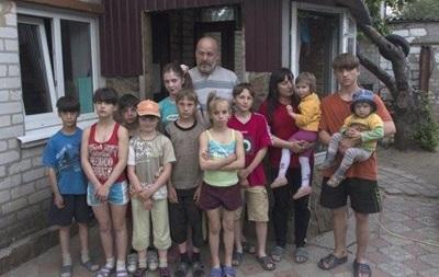 Похищенный в Славянске отец десяти детей нашелся в Днепропетровске