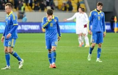 Украина потеряла пять строчек в рейтинге UEFA
