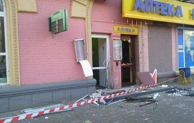 Инциденты у отделений Сбербанка России в Киеве квалифицированы как теракт