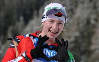 Биатлон: Украинки не сумели побороться за победу в гонке в России