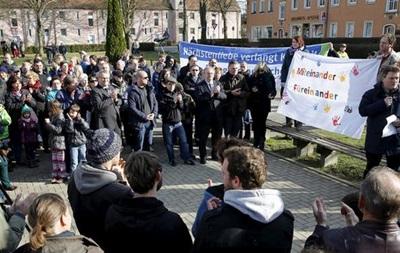 В Германии прошли протесты против праворадикалов