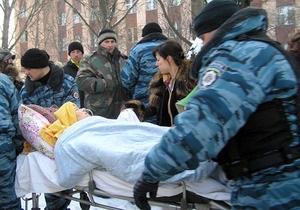 Взрыв в луганской больнице: из-под завалов спасены четыре человека