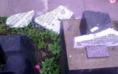 Во Львове повредили памятник воинам-афганцам