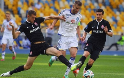 Динамо Киев - Заря: Видео онлайн трансляция матча 1/4 финала Кубка Украины
