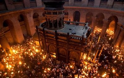В Киев 11 апреля доставят Благодатный огонь из Иерусалима