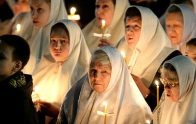 Пасхальные службы в Москве побили рекорд