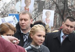 Тимошенко: Власть боялась, что я вернусь из Брюсселя в Украину