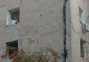 В Харькове в многоэтажке произошел взрыв, есть пострадавшие