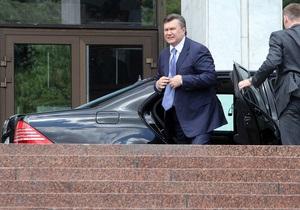 Украина потратит на содержание автопарка Кабмина и Госуправления делами 120 миллионов гривен