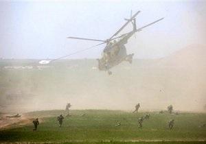 В Афганистане потерпел крушение вертолет коалиции