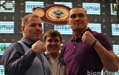 Сегодня состоится бой Александра Усика с Андреем Князевым