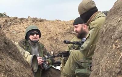 Бойцы Азова показали видео боя в Широкино