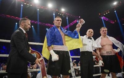 Усик хочет провести турнир в родном Крыму
