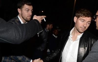 Джераррд отдыхал в ночном клубе после вылета Ливерпуля из Кубка