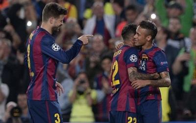 Барселона без проблем прошла в полуфинал Лиги чемпионов