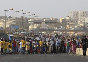 В Сенегале прошли массовые демонстрации