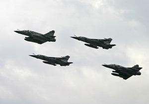 Во Франции разбился истребитель Mirage-2000