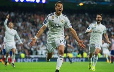 Реал в большинстве с трудом обыграл Атлетико на пути в полуфинал Лиги чемпионов