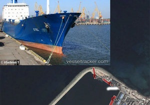 В Ливии захвачено украинское судно Etel