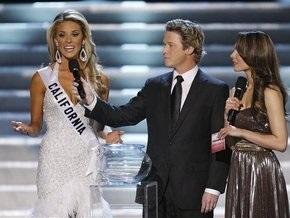 Мисс Калифорния: Высказывание против однополых браков стоило мне короны