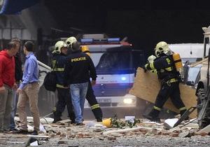Прага - взрыв в Праге - МИД - Пострадавших от взрыва украинцев в Праге не обнаружено