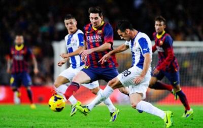 Эспаньол - Барселона 0:2 Онлайн трансляция матча чемпионата Испании