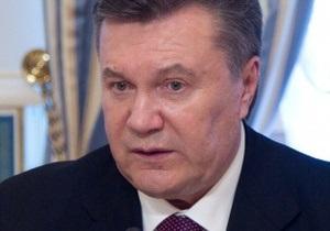 Янукович считает, что  Украина не готова к вступлению в ЕврАзЭС