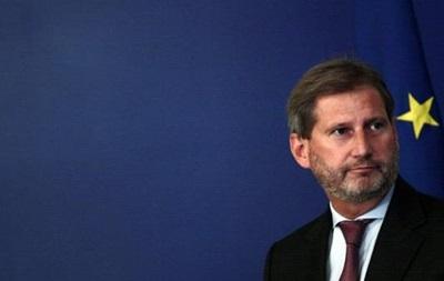 Еврокомиссар рассказал, каких реформ ждут от Украины