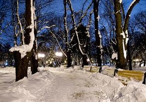 В канун Рождества на большей части Украины пойдет снег
