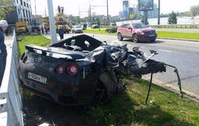 В сеть попало видео страшной аварии экс-игрока киевского Динамо в России