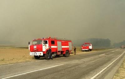 Пожар распространяется в направлении ЧАЭС -  Аваков