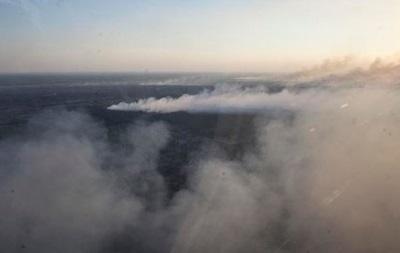 Аваков: Пожар возле Чернобыля потушен в 5 км от могильников отходов