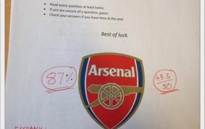 Парень устроил девушке экзамен на знание Арсенала