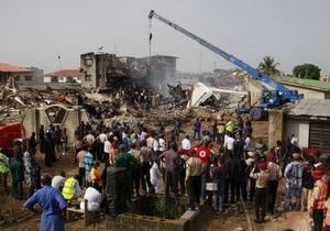 Нигерия скорбит по жертвам авиакатастрофы в Лагосе